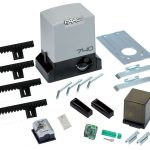 Test de la Faac 740 kit pour portails coulissants avec 2 télécommandes